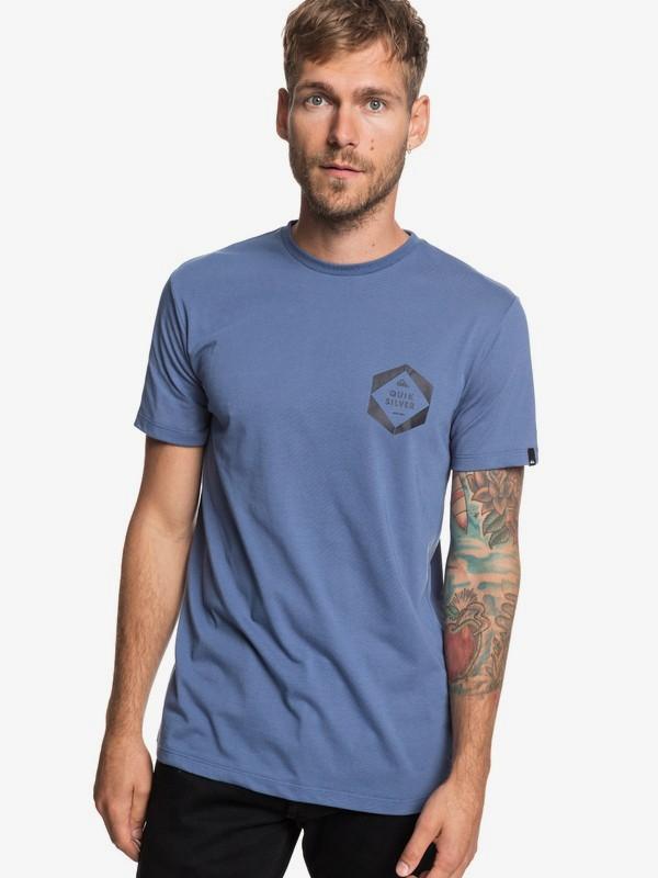 0 Swell Frame - Camiseta para Hombre Azul EQYZT05239 Quiksilver
