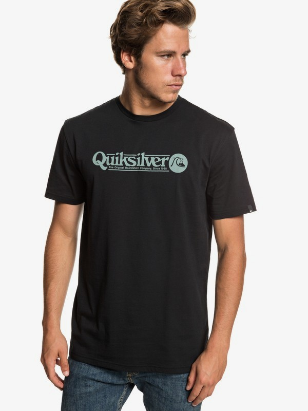 0 Art Tickle - T-Shirt for Men Black EQYZT05259 Quiksilver