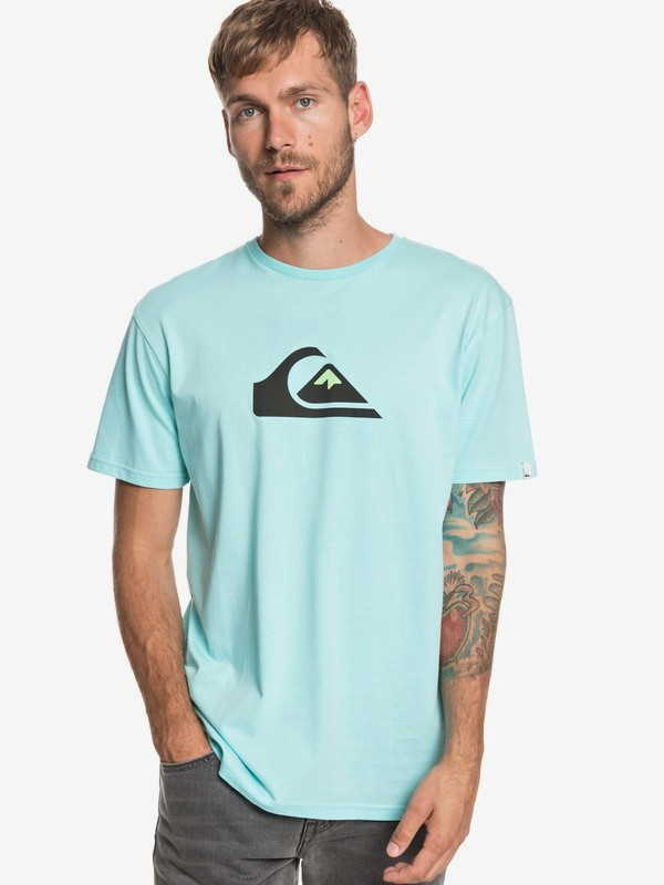 0 M And W - T-Shirt for Men Blue EQYZT05262 Quiksilver