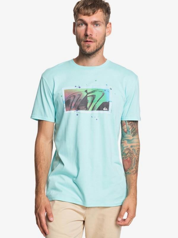 0 The Quiver - Camiseta para Hombre Azul EQYZT05269 Quiksilver