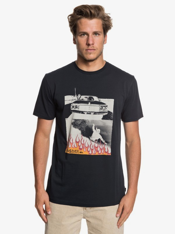 0 Against All Odd Balls - T-Shirt for Men Black EQYZT05279 Quiksilver