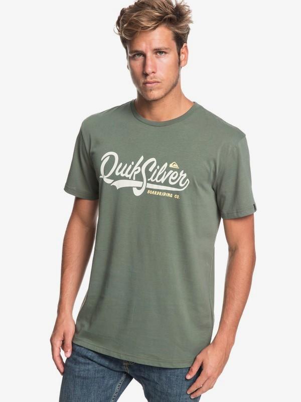 0 Quik Pool - Camiseta para Hombre Marron EQYZT05293 Quiksilver