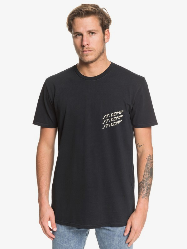 0 Fast Lane - Camiseta para Hombre Negro EQYZT05346 Quiksilver