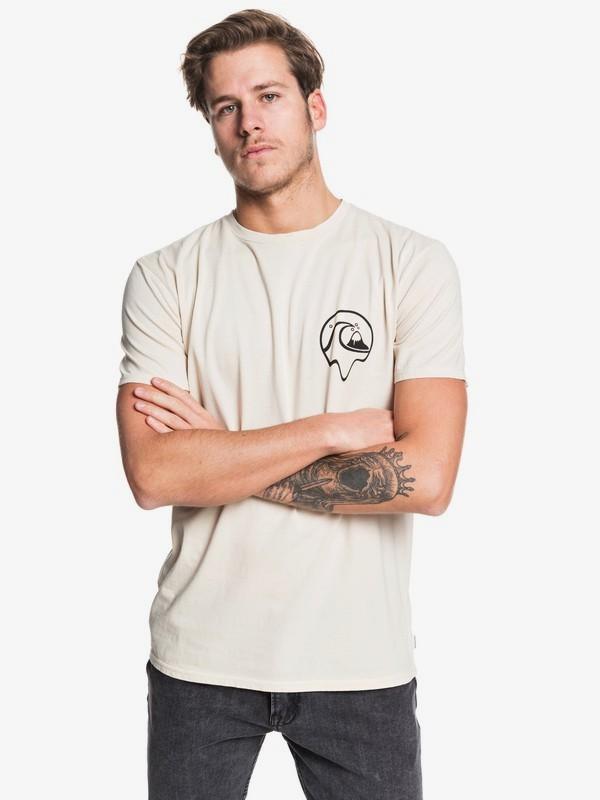 0 Dead Island - Camiseta para Hombre Beige EQYZT05436 Quiksilver