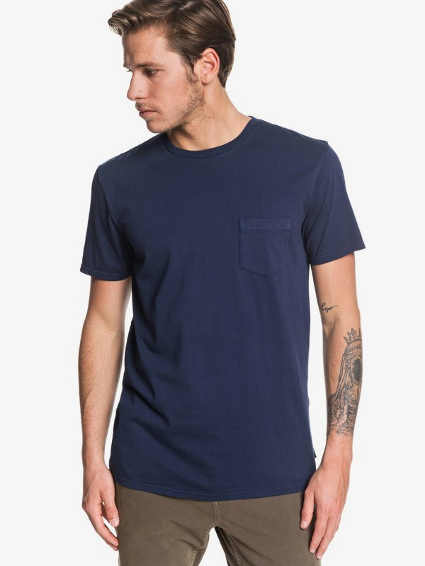 Basic Washed - T-Shirt for Men  EQYZT05460