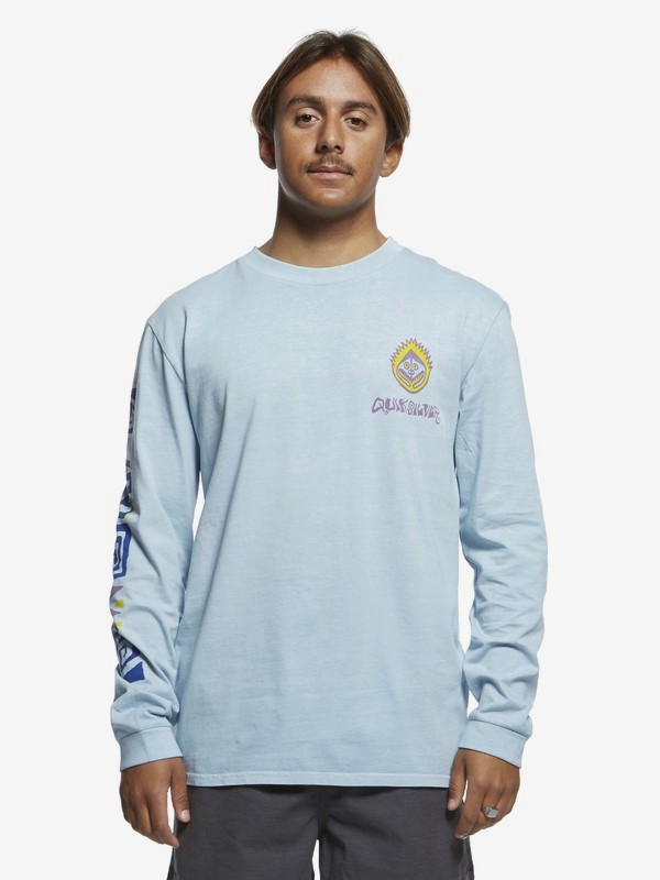 0 Originals Paradise - Long Sleeve T-Shirt for Men Blue EQYZT05470 Quiksilver