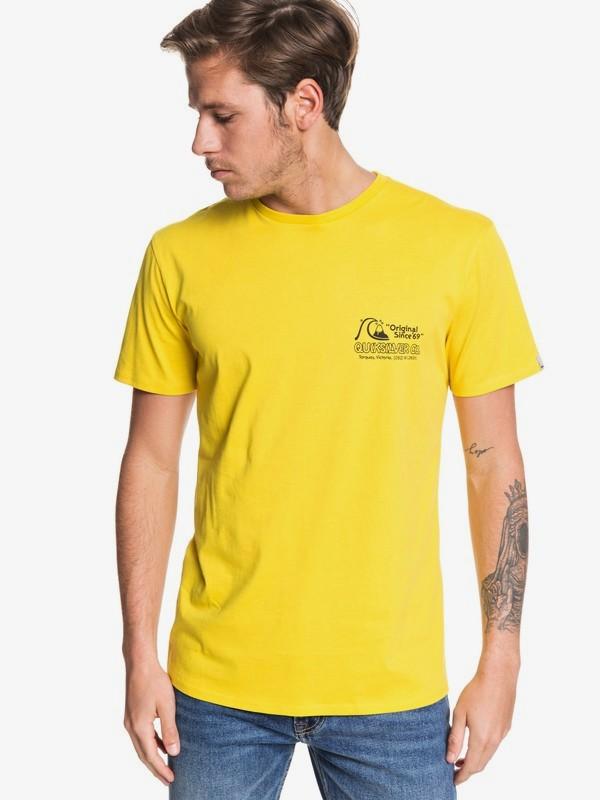 0 Daily Wax - Camiseta para Hombre Verde EQYZT05477 Quiksilver