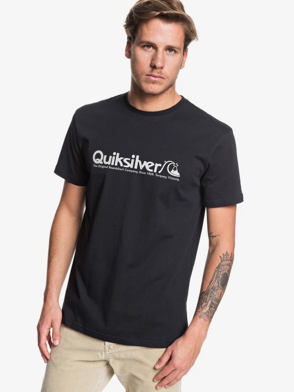 0 Modern Legends - Camiseta para Hombre Negro EQYZT05488 Quiksilver