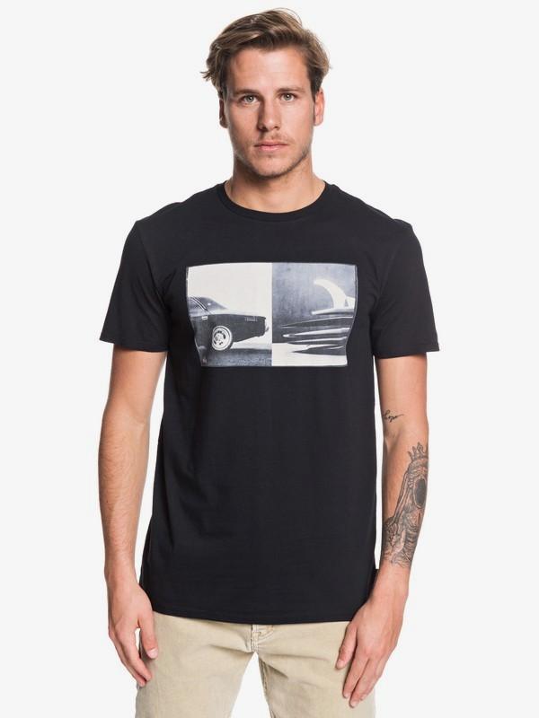 0 High Speed Pursuit - Camiseta para Hombre Negro EQYZT05499 Quiksilver