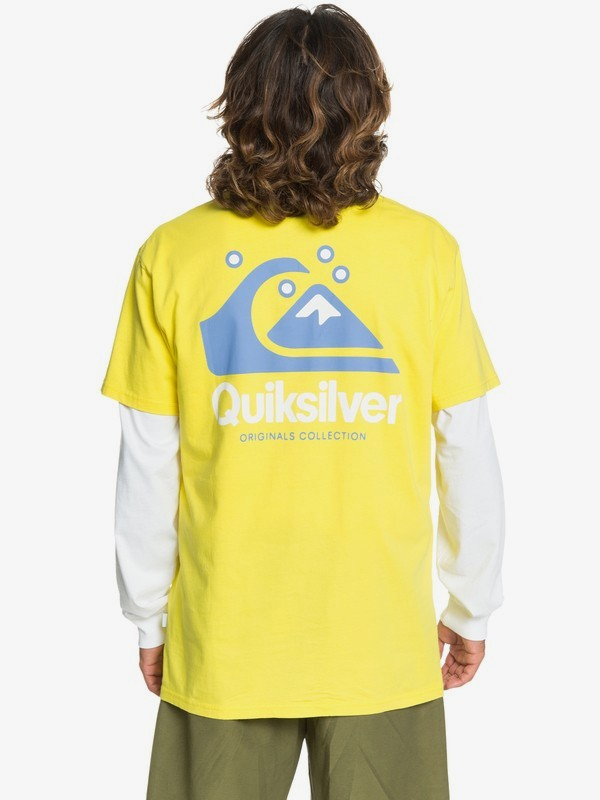 Quiksilver ORIGINALS - T-shirts print - black