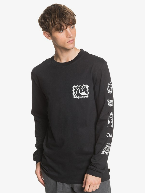 Too Cool For Surf School - Sustainable Long Sleeve T-Shirt  EQYZT05834