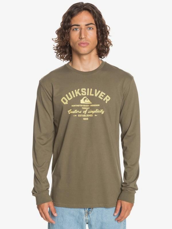 Creators Of Simplicity - Long Sleeve T-Shirt for Men  EQYZT06068