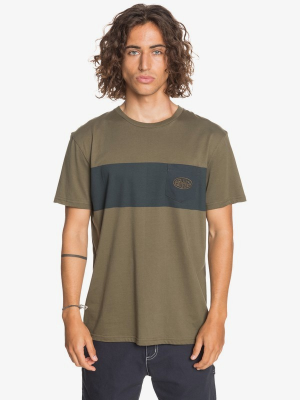 Far Behind - Pocket T-Shirt for Men  EQYZT06094