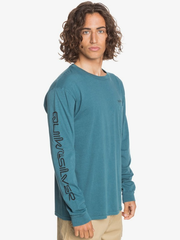 Coastal Wash - Long Sleeve T-Shirt for Men  EQYZT06110