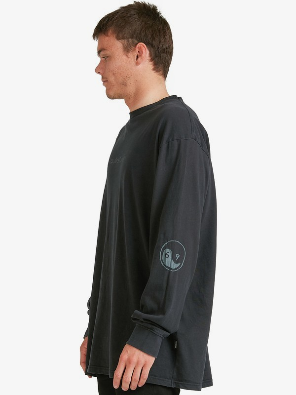 69 Capsule Black Out - Long Sleeve T-Shirt for Men  EQYZT06287