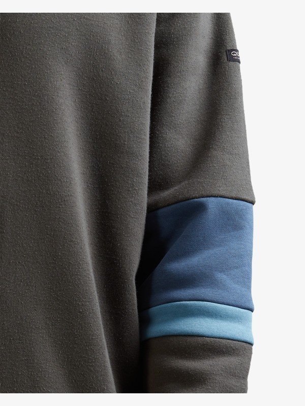 Cuff Lines - Recycled Hoodie for Men  UQYFT03069