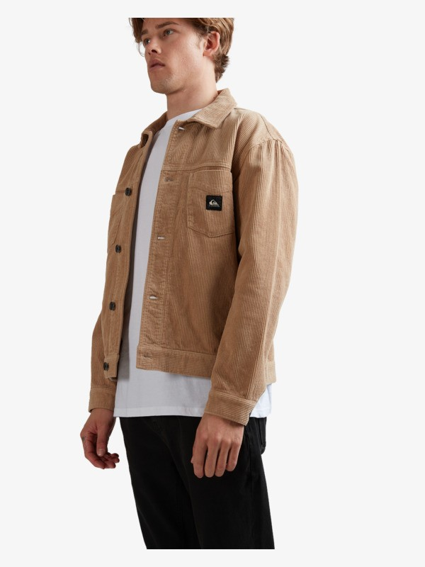 Quik Cord - Boxy Jacket for Men  UQYJK03012