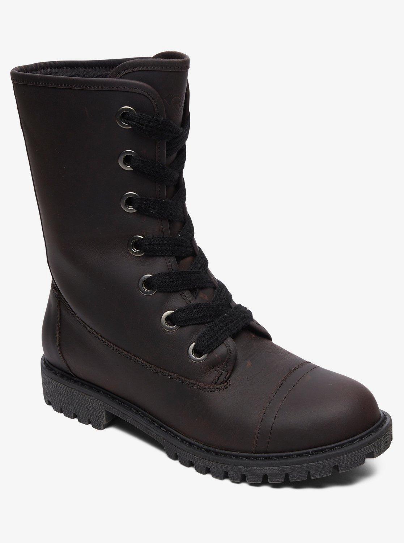 livraison rapide qualité parfaite chaussures exclusives Vance - Bottines à lacets en cuir pour Femme