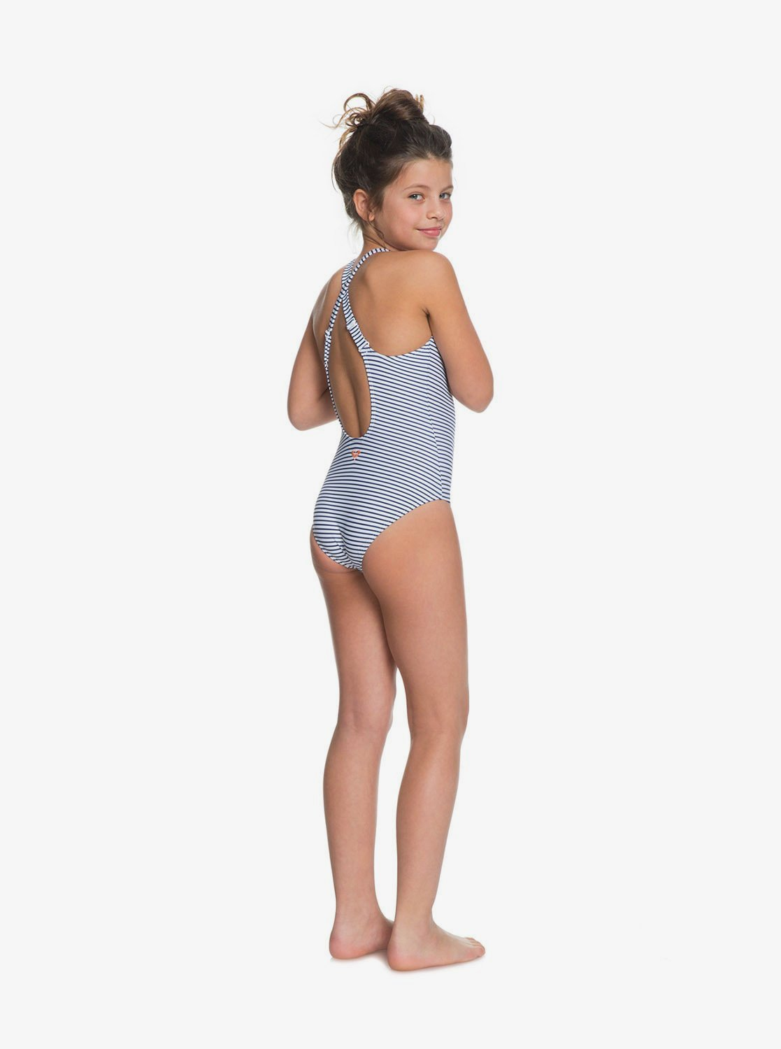 on feet at coupon codes lace up in Surfing Free - Maillot de bain une pièce pour Fille 8-16 ans