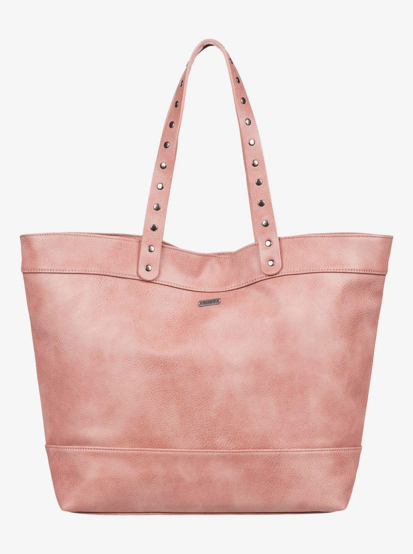 Roxy Hot Pink Womens Girls Handbag Shoulder School Hand Bag
