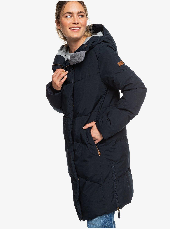 Nouvelle diversifié dans l'emballage grandes variétés Abbie - Doudoune à capuche longue imperméable pour Femme