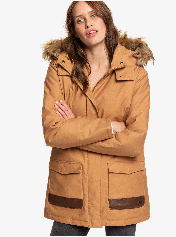 magasin en ligne b18ea dc564 Travelling West - Parka à capuche pour Femme