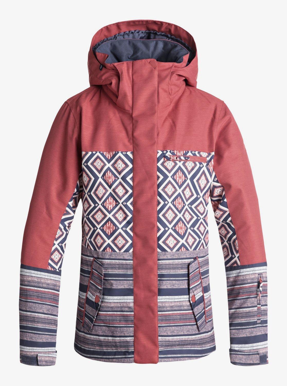 Boutique en ligne 97773 c66a4 Roxy Jetty Block Jk Chaqueta para Nieve Mujer Ropa Abrigos ...