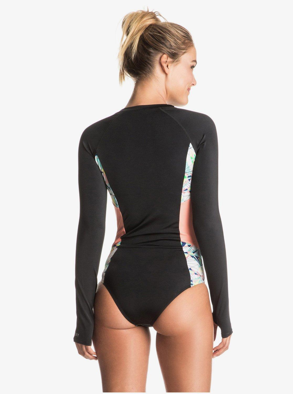free shipping multiple colors new styles Keep It ROXY - Long Sleeve One-Piece Swimsuit ERJWR03122   Roxy