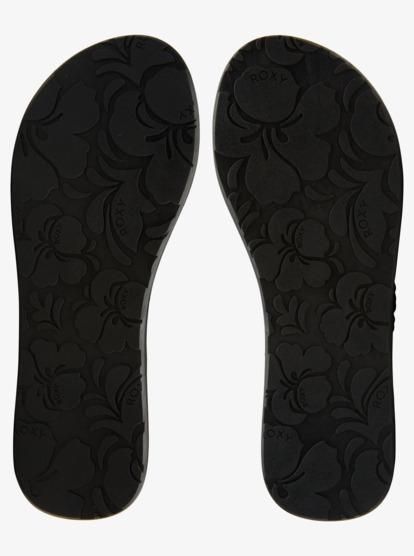Roxy Costas II Filles Chaussures Sandales-Noir Toutes Tailles