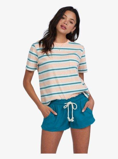 록시 반바지 Roxy Oceanside Linen Shorts,BISCAY BAY bpw0