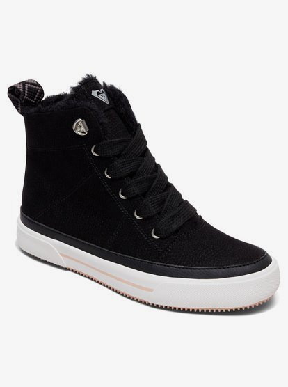 Ivan Fur High-Top Shoes ARJS300331 | Roxy