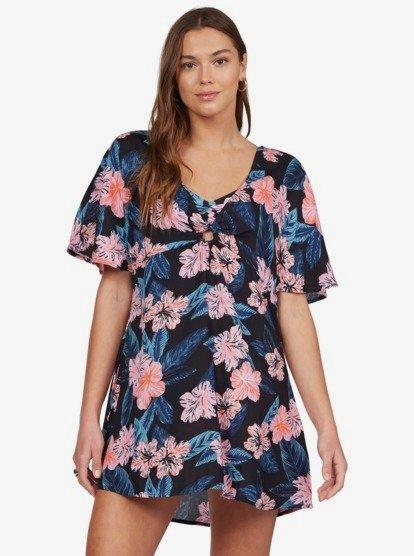 록시 커버업 원피스 Roxy Summer Cherry Dress,ANTHRACITE TROPICAL FLOWERS kvj8