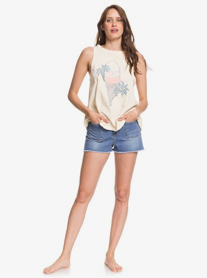 Roxy Womens Triple Scoop Muscle Tank