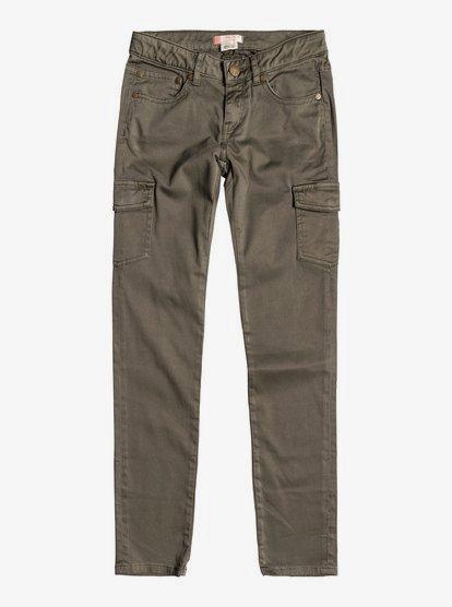 Time To Know Pantalones Tipo Militar Para Chicas 8 16 Ergnp03020 Roxy
