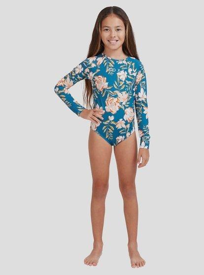 Roxy Girls Summer of Surf Long Sleeve Lycra Onesie