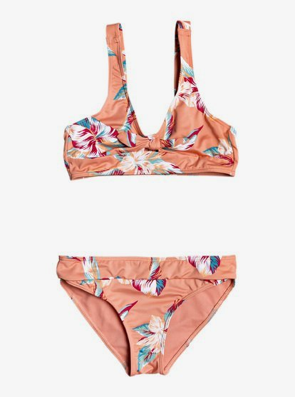 Roxy Girls Made Tri Swimsuit Set