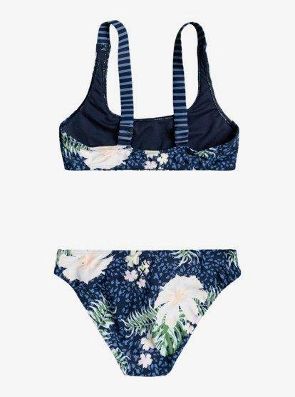 Roxy Girls Big Heart in The Waves Tri Swimsuit Set