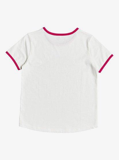 Roxy Girls Printed T Shirt WHITE SIZES NEW 10,12 /& 14