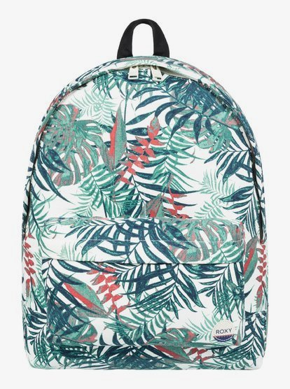 ROXY Sugar Baby Womens Backpack Multicoloured Logo 16L NEW RRP £30