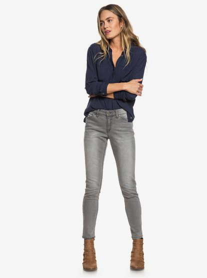 Roxy Womens Seatripper Denim Jean Pants