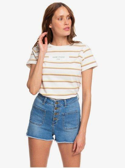 Roxy Girls Shine Like Sun Denim Shorts