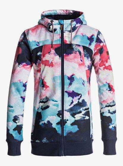 Frost Sweat à capuche zippé matière sherpa pour Femme