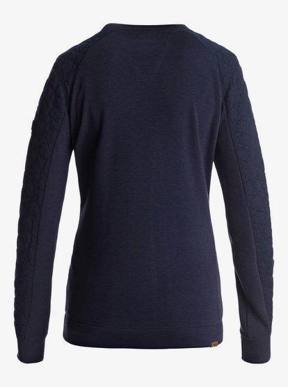Roxy Womens Resin Pullover Crew Sweatshirt