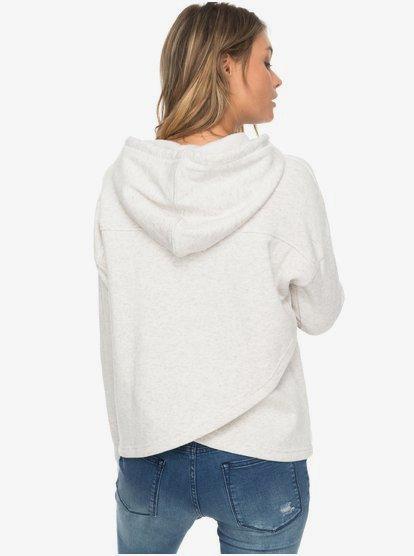Roxy Womens Coasting Ahead Pullover Hooded Sweatshirt