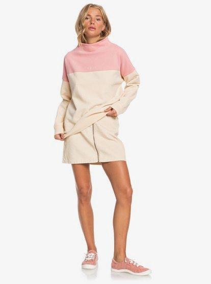 Mind Surf Sweater met Opstaande kraag voor Dames