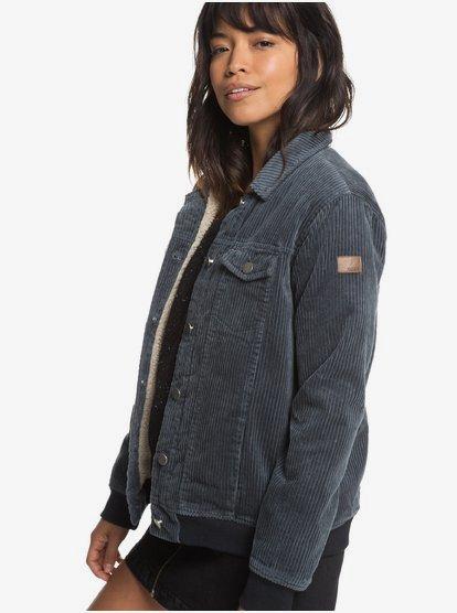 grey corduroy jacket womens