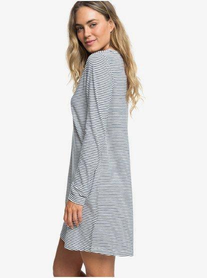 Love Sun Long Sleeve T-Shirt Dress ERJKD03234 | Roxy