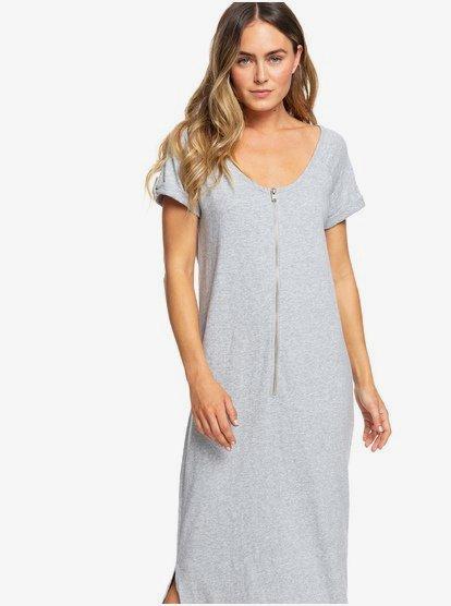 Women Short Sleeve Ladies Maxi Dress Loose Fit T-Shirt Tops Dress Plus Size 6-24