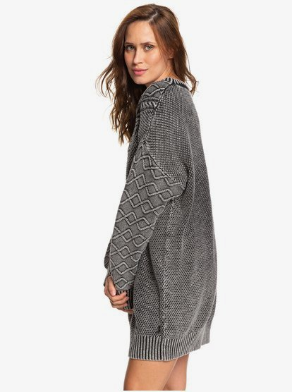 Roxy Womens Snow Day Sweater Dress