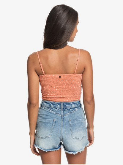 Roxy Womens Flashback Moments Strappy Tank